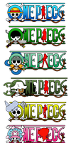 One Piece Logo (Straw Hats Crew) 2Y Post Timeskip by mcmgcls