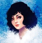 Snow White Portrait by Paola-Tosca