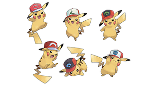 Pikachu wearing a Cap now available for Sun/Moon by ...