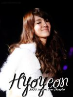 SNSD Individuals : Hyoyeon by GraPHriX