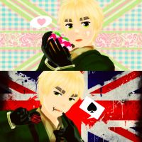 UkeEngland vs. SemeEngland by BlueSushiKitty