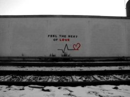 Feel the Beat of Love by OrangeCoffin