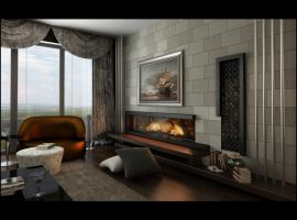 living room avantgarde 2 by Ertugy