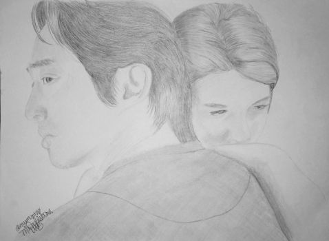 Glenn and Maggie by UtterlyAbsurdBella
