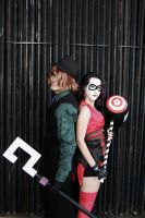 The Riddler and Harley Quinn - Criminally Insane by DashingTonyDrake