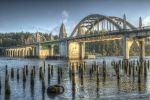 Siuslaw River Bridge by adamsimsphotography