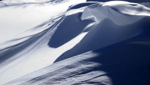 Cornices On Frosty Mountain by Westcoastspirits