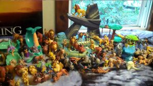 Lion King figure collection - 1/16/13 by Pega-Flair