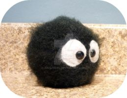Totoro Soot Sprite by AAMurray