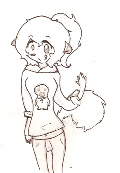 Arty Fox's Free Sketch :D by SuperSushi122