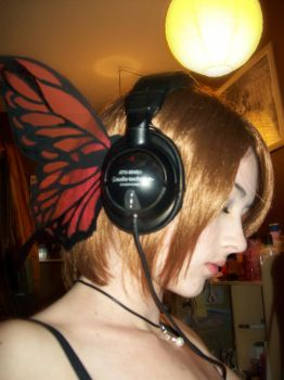 Vocaloid Magnet Wing by AlouetteCosplay