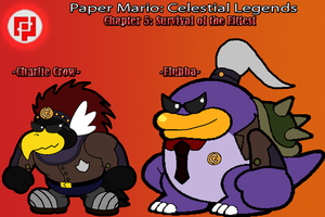 CL Chapter 5 Bosses: Charlie Crow and Flubba by TheSpiderManager
