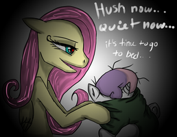 HUSH NOW QUIET NOW by RottenSeahorse