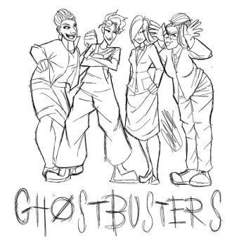 Ghostbusters by LunacyInArt