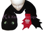 Toothless Scarf by AKawaiiBoutique