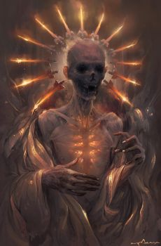 Forever Burning Heart by apterus