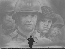 Saving Private Ryan by Mut5is