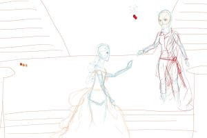 WIP PsotA Cynthia and Lucas- tPotO collab by blossomsakuraXx
