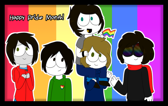Happy Pride Month | The Mark Side by Saveraedae