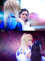 Labyrinth - Sarah and Jareth by Melali