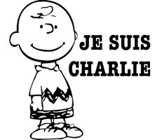 JE SUIS CHARLIE (BROWN) by TADASHI-STATION
