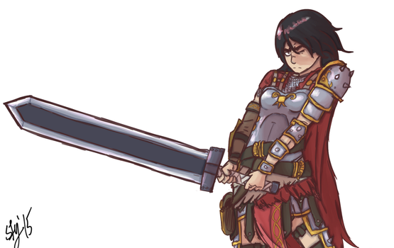 SMITE: Bellona by ScreenDrawingShit