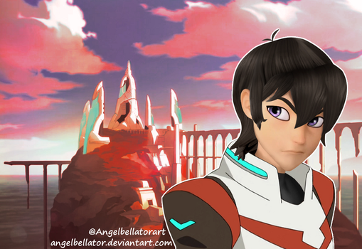 Keith in miraculous style by AngelBellator