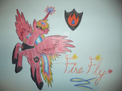 Fire Fly, Cheif Commander of the High Flyers by SupernaturalAbyss