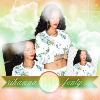 PNG Pack (116) Rihanna Fenty by blacktoblackpngs