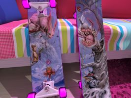 New deck by Simidae