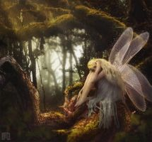 Fairy of the Tangled Forest by Majentta