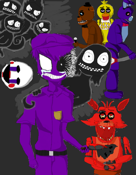 FNAF what has he done?! by Jackaplier