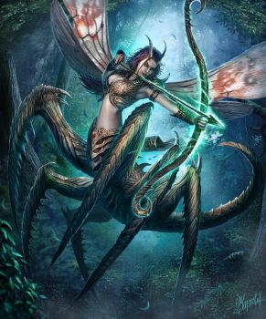 Insect Archer by DusanMarkovic
