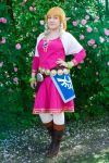 Skyloft Zelda cosplay - Exploring Hyrule! by ElisiumCosplay