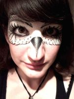 Owl Facepaint by The-Devils-Music