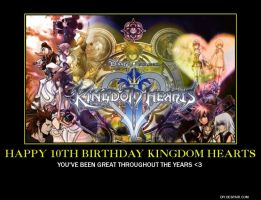 Happy 10th Birthday Kingdom Hearts by sonicrocker