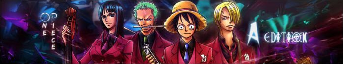 One Piece A-Edition Banner by YinYangSplit
