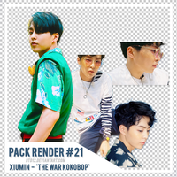 [PACK RENDER #21] XIUMIN - THE WAR KOKOBOP by DTD12