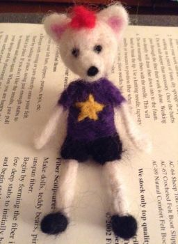 needle felted harlow by Sulna