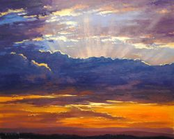 Sunrise Clouds by artsaus