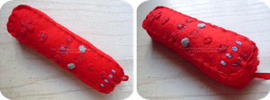 Wii Controller: Red by Kitty-Sprinkles