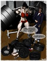 Workout Weight Mistake by Stone3D