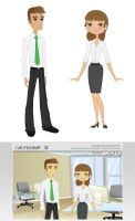 vector people by frana