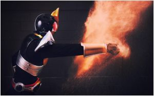 Kamen Rider Agito : FIRE PUNCH by beethy