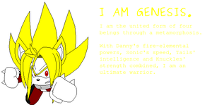 Super Genesis Comin' Atcha by Legends-Are-ETERNAL