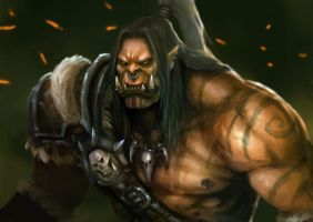 warlord with the iron will by pc-0