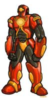 Iron Man Redesign by PaulSizer