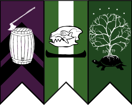 Banner and Sigil by Pythosblaze
