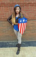 The First Avenger by SamanthaLynnCosplay