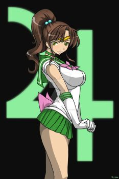 Sailor Jupiter by Madcatstudios